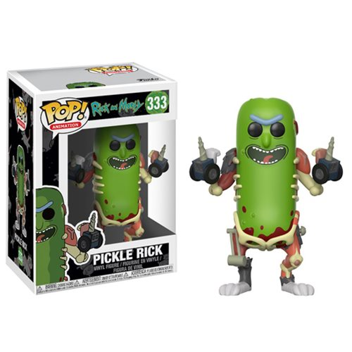 Preorder August 2018 Rick and Morty Pickle Rick Pop! Vinyl Figure #333