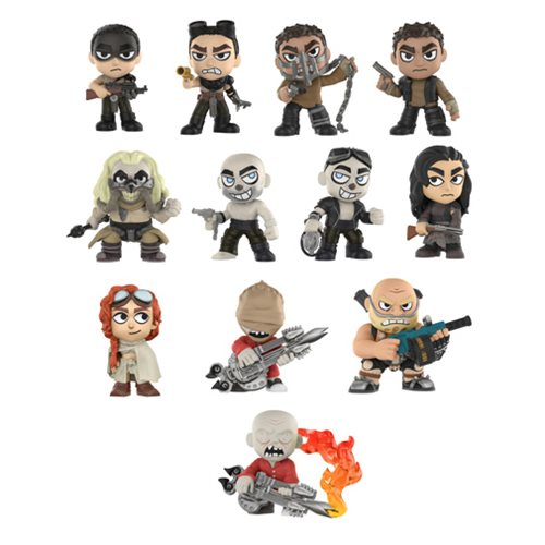 Preorder February 2018 Mad Max: Fury Road Mystery Minis Case of 12 Figures