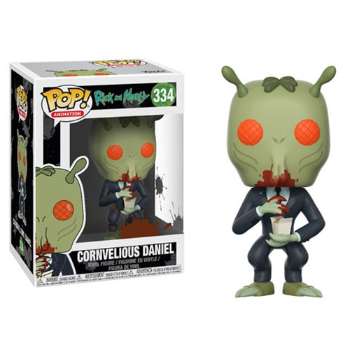 Preorder August 2018 Rick and Morty Cornvelious Daniel with Mulan Sauce Pop! Vinyl Figure #334