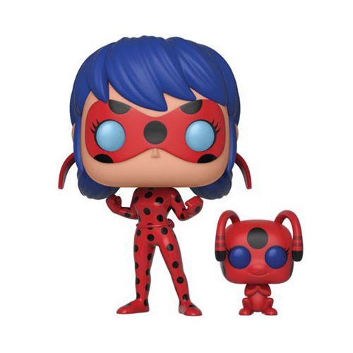 Preorder August 2018 Miraculous Ladybug with Tikki Buddy Pop! Vinyl Figure