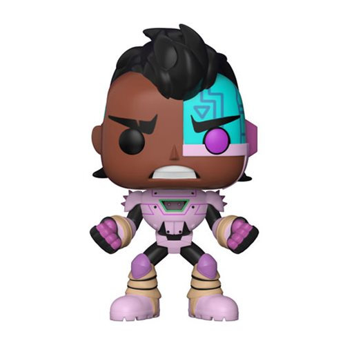 Preorder  Teen Titans GO! The Night Begins to Shine Cyborg Pop! Vinyl Figure #605