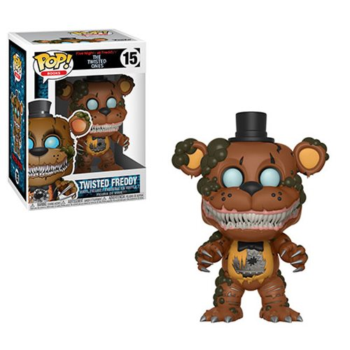 Preorder August 2018 Five Nights at Freddys Twisted Ones Twisted Freddy Pop! Vinyl Figure