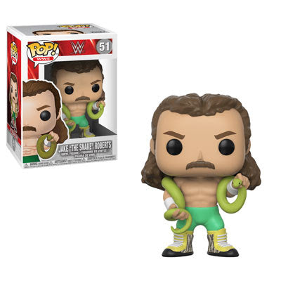 Preorder  WWE Jake the Snake Pop! Vinyl Figure