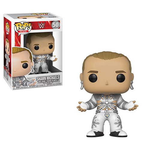 Preorder  WWE Shawn Michaels Wrestle Mania12 Pop! Vinyl Figure