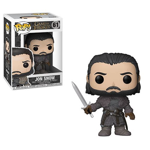 Preorder  Game of Thrones Jon Snow Beyond the Wall Pop! Vinyl Figure