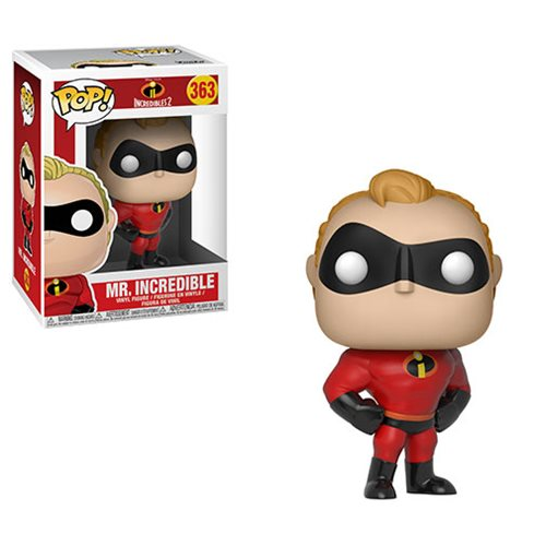 Preorder August 2018 Incredibles 2 Mr. Incredible Pop! Vinyl Figure #363