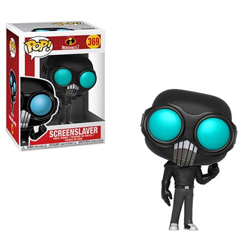 Preorder August 2018 Incredibles 2 Screenslaver Pop! Vinyl Figure #369