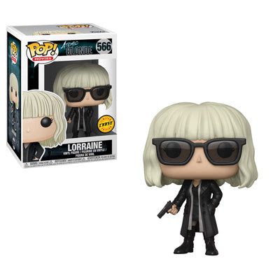 Preorder  Atomic Blonde Lorraine with Gun Chase Pop! Vinyl Figure