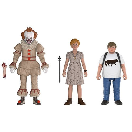 Preorder August 2018 It Action Figure 3-Pack Set #2