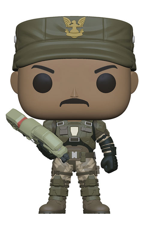 Preorder June 2018 Halo Sgt. Johnson Pop! Vinyl Figure