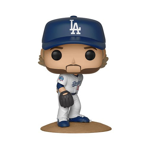 Preorder  MLB Clayton Kershaw Pop! Vinyl Figure