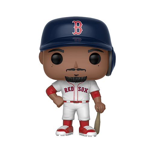 Preorder  MLB Mookie Betts Pop! Vinyl Figure