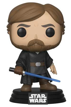 Preorder 2018 Star Wars The Last Jedi Luke Skywalker Final Battle POP! Vinyl Figure
