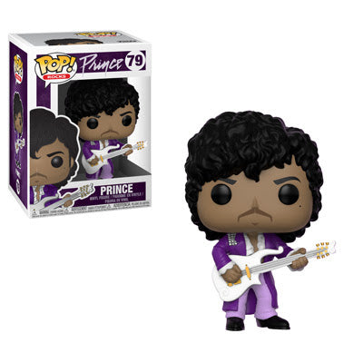 Preorder Pop! Rocks Prince Purple Rain Pop! Vinyl Figure #79
