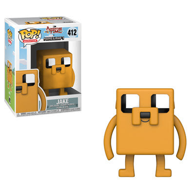 Preorder  Adventure Time Minecraft Jake Pop! Vinyl Figure #412