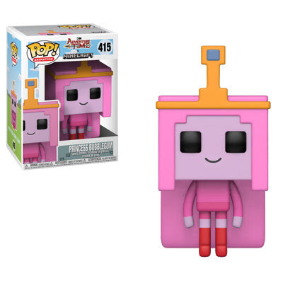 Adventure Time Minecraft Princess Bubblegum Pop! Vinyl Figure #415