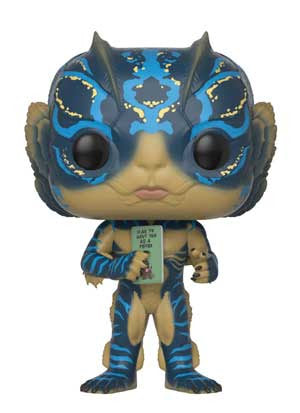 Preorder September 2018 The Shape of Water Amphibian Man with Card Pop! Vinyl Figure