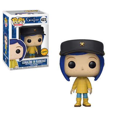 Preorder Coraline Coraline in Raincoat Chase Pop! Vinyl Figure #423
