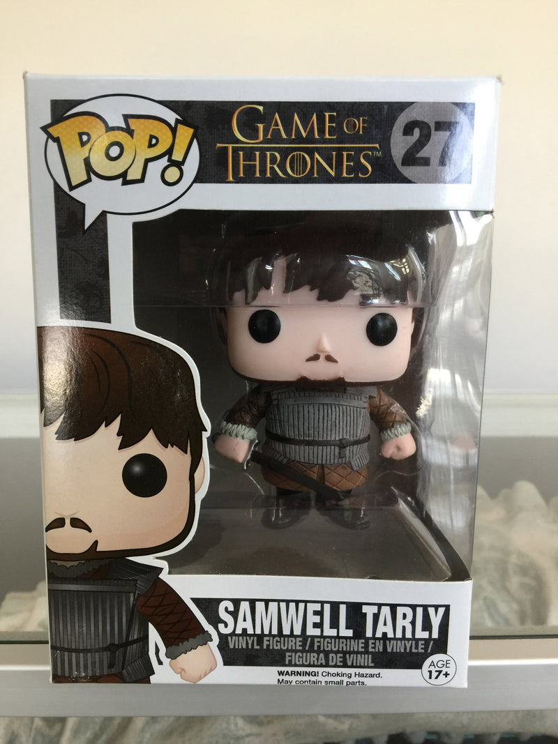 Game of Thrones Samwell Tarly Pop! Vinyl Figure #27