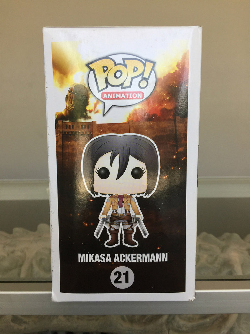 Attack on Titan Mikasa Ackerman Pop! Vinyl Figure #21