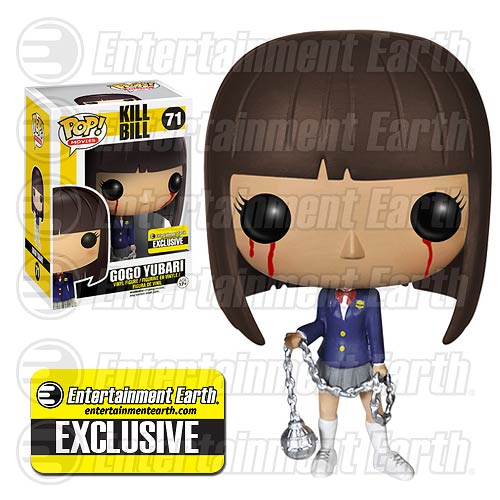 Kill Bill Bloody Eyes Gogo Yubari Pop! Vinyl Figure