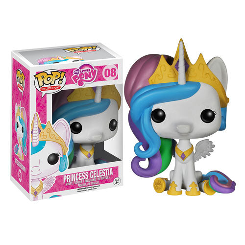 My Little Pony Friendship is Magic Princess Celestia Pop! Vinyl Figure #08