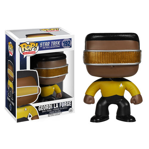 Star Trek: The Next Generation Geordi La Forge Pop! Vinyl Figure #192