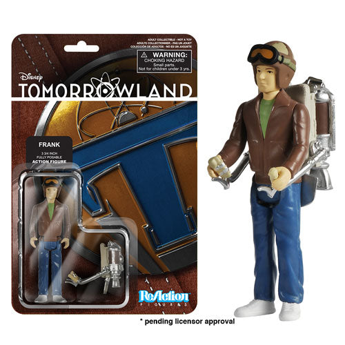 Tomorrowland Young Frank Walker ReAction 3 3/4-Inch Retro Action Figure