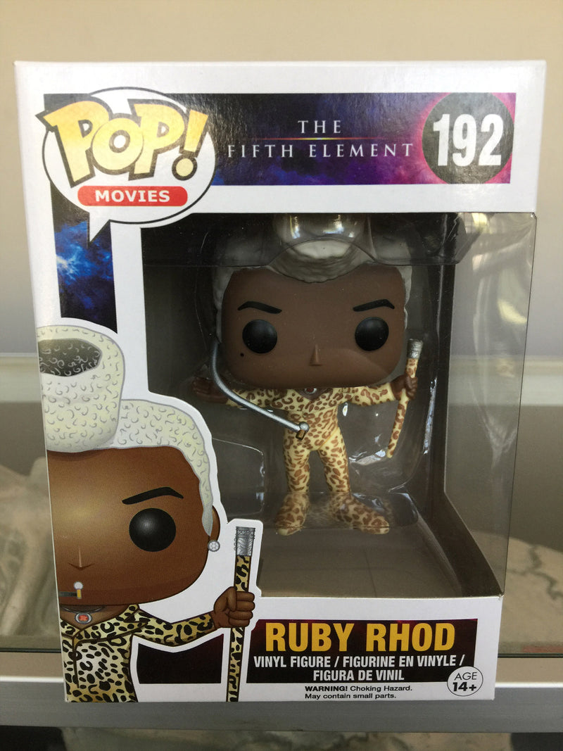 Fifth Element Ruby Rhod Pop! Vinyl Figure #192