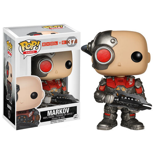 Evolve  Assault Hunter Markov Pop! Vinyl Figure #37