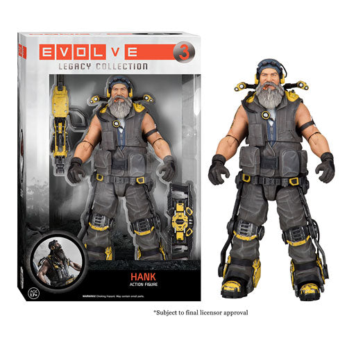 Evolve Hank Legacy Action Figure