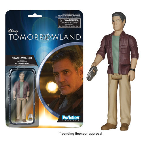 Disney Tomorrowland Frank Walker ReAction 3 3/4-Inch Retro Action Figure