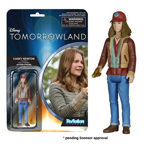 Tomorrowland Casey ReAction 3 3/4-Inch Retro Action Figure
