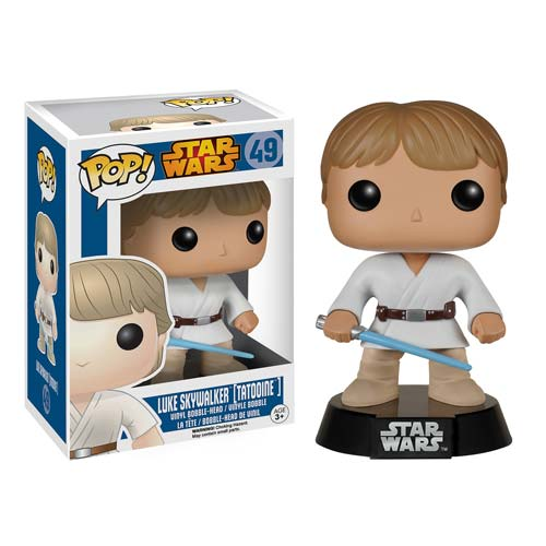 Star Wars Tatooine Luke Skywalker Pop! Vinyl Bobble Head