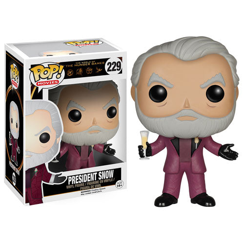Hunger Games President Snow Pop! Vinyl Figure