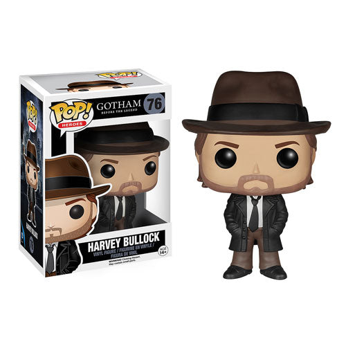 Gotham Batman Harvey Bullock Pop! Vinyl Figure #76
