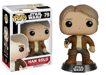 Star Wars: Episode VII - The Force Awakens Han Solo Pop! Vinyl Bobble Head