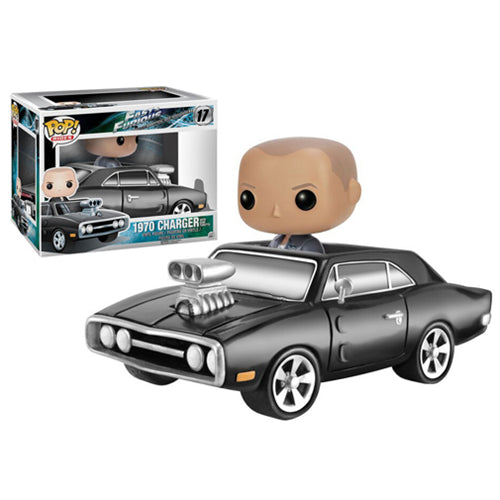 Fast and Furious 1970 Charger with Dom Toretto Pop! Vinyl Vehicle