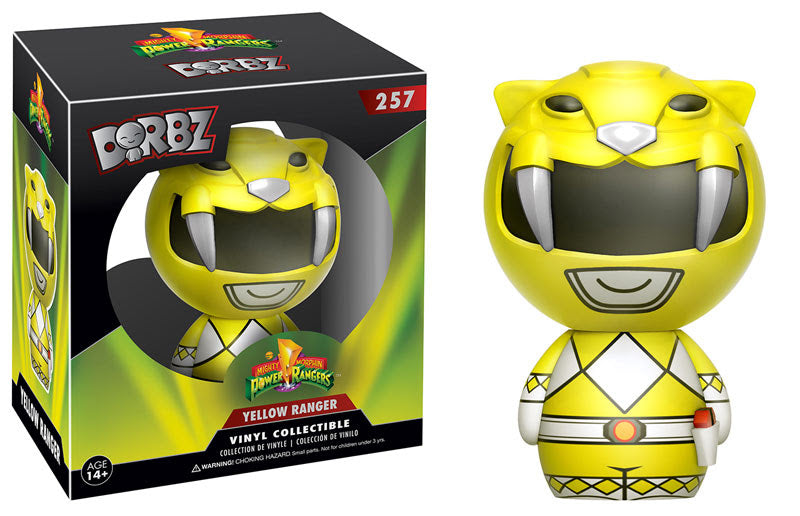 Mighty Morphin' Power Rangers Yellow Ranger Dorbz Vinyl Figure