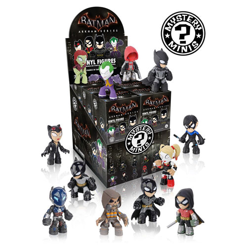 Batman Arkham Series Mystery Minis Vinyl Figurs (Randomly Selected)