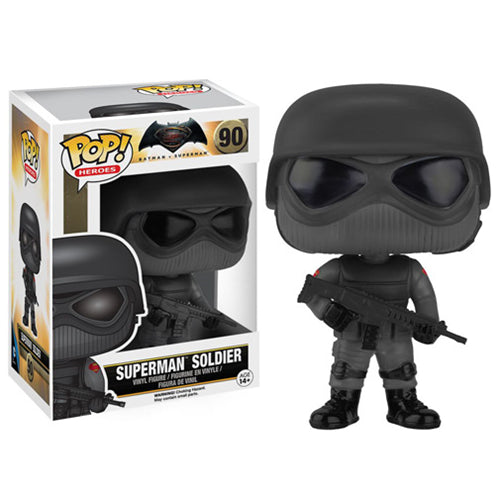 Batman v Superman: Dawn of Justice Superman Soldier Pop! Vinyl Figure