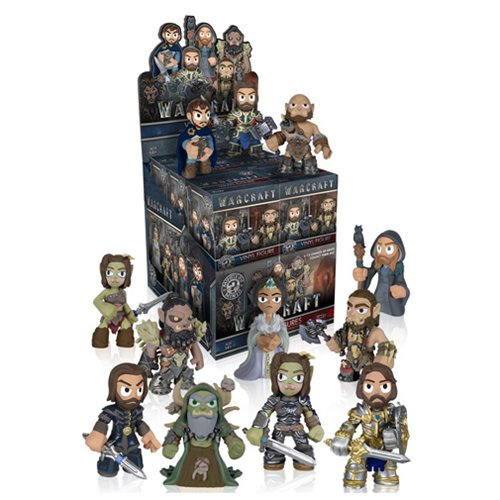 Warcraft Mystery Minis Case of 12 Figures
