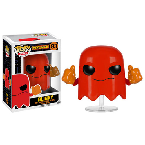 Pac-Man Blinky Pop! Vinyl Figure #83