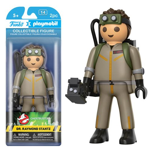 Preorder February 2017 Ghostbusters Dr. Raymond Stantz 6-Inch Playmobil Action Figure - Toy Wars - Funko