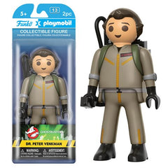 Preorder February 2017 Ghostbusters Peter Venkman 6-Inch Playmobil Action Figure - Toy Wars - Funko