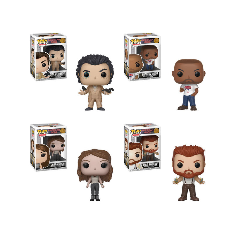 American Gods Pop! Vinyl Figures Set of 4
