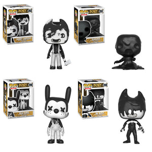 Preorder April 2018 Bendy and the Ink Machine Pop! Vinyl Figures Set of 4