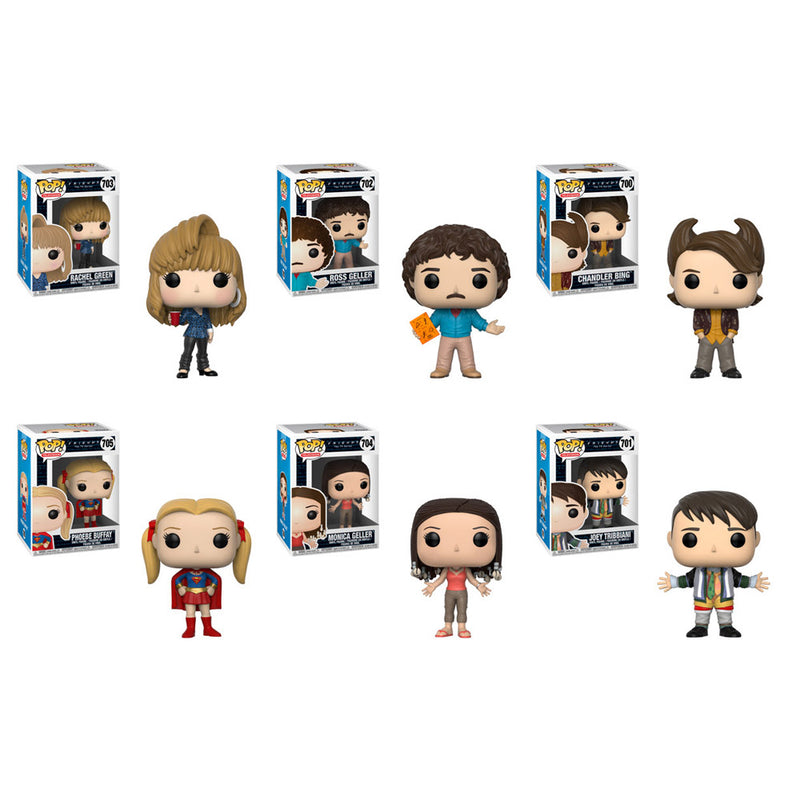 Preorder Friends Series 2 Pop! Vinyl Figures Set of 6