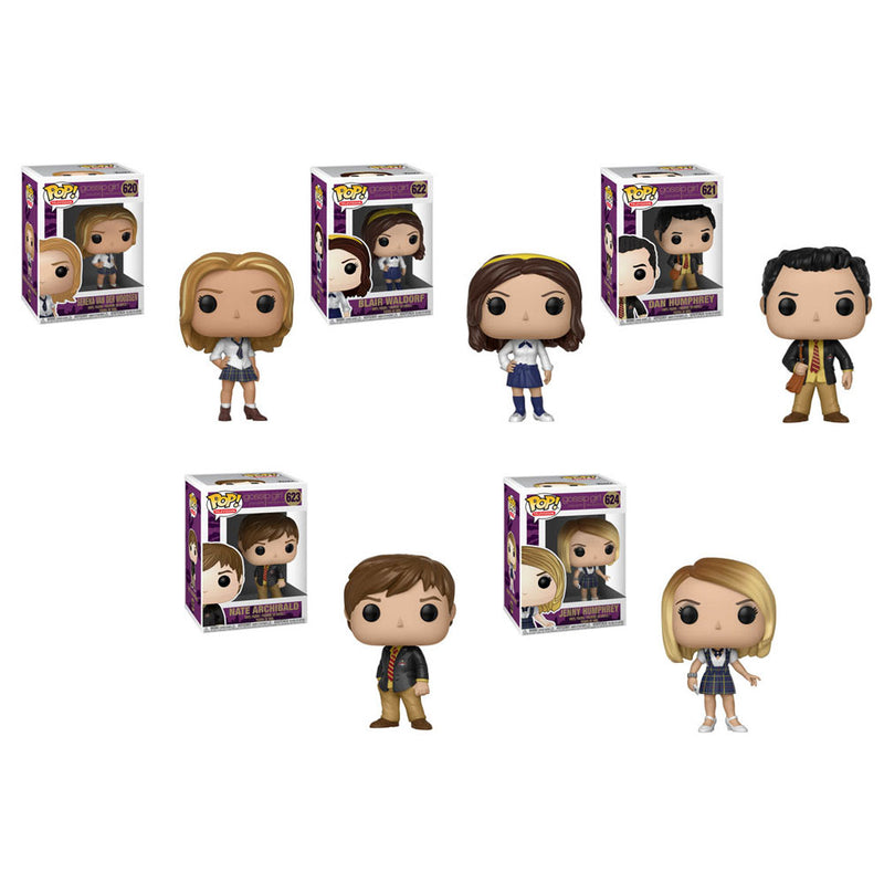 Preorder  Gossip Girl Pop! Vinyl Figures Set of 5