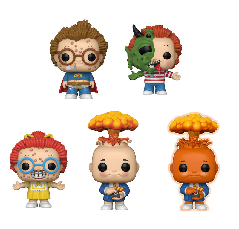Preorder  Garbage Pail Kids Pop! Vinyl Figures Set of 5 with Chase